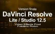 Blackmagic DaVinci Resolve 12.5 en version finale